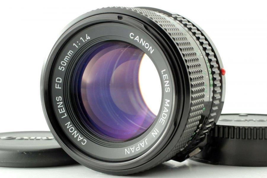 Canon FD 1.4/50 Japan, 1977