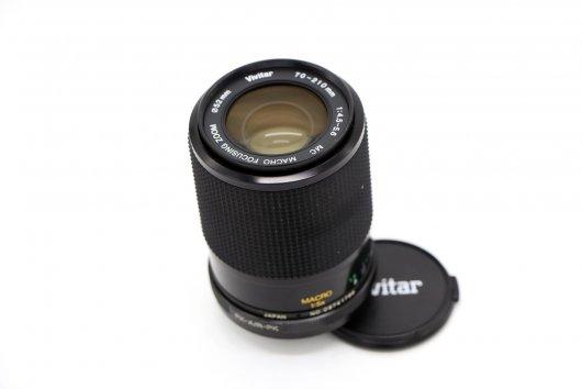 Vivitar 70-210mm f/4.5-5.6 MC MACRO