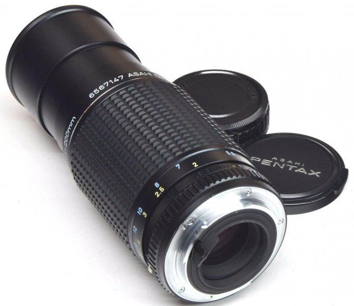 Pentax-M zoom SMC 4,5/80-200mm (Japan, 1982)