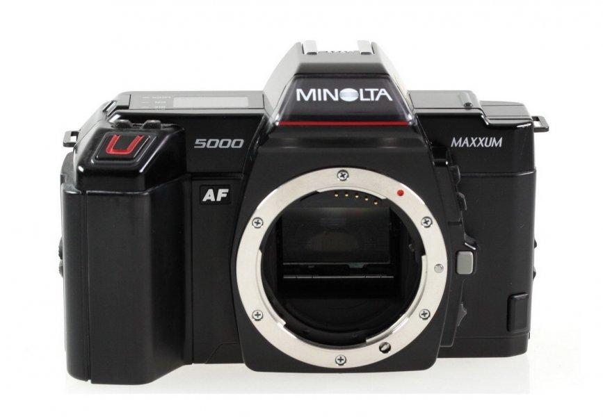 Minolta 5000 maxxum (Japan, 1990)