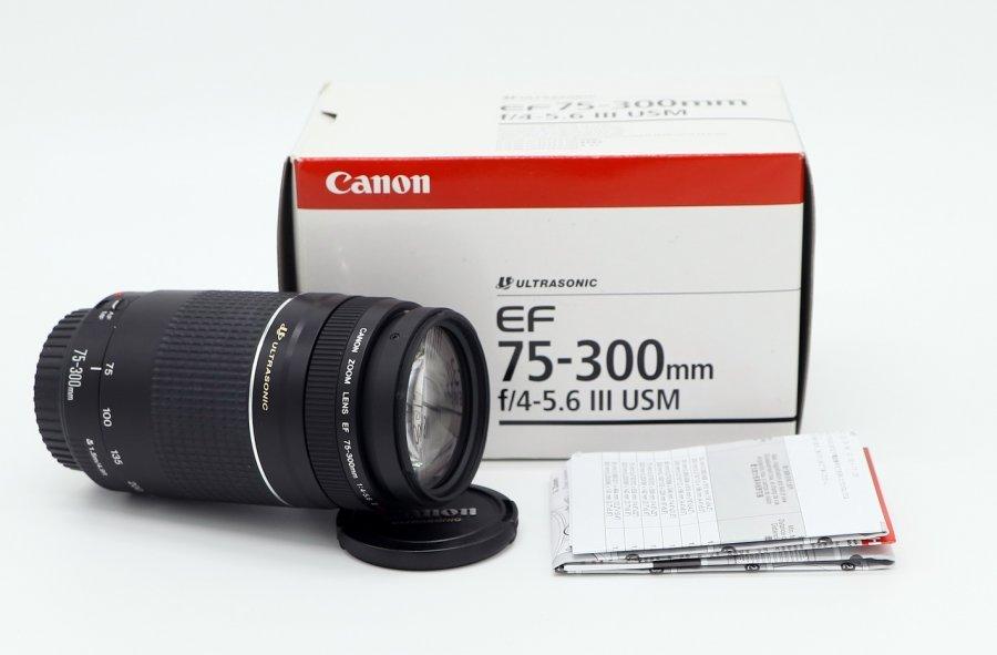 Canon EF 75-300mm 4-5.6 III USM (новый)