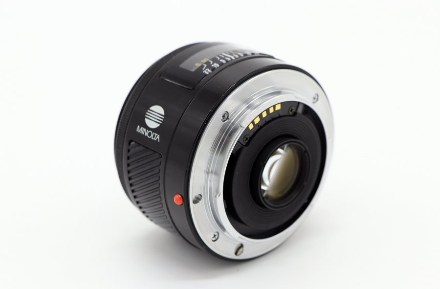 Maxxum AF 28mm f/2.8 (22) Minolta (Japan, 1987)