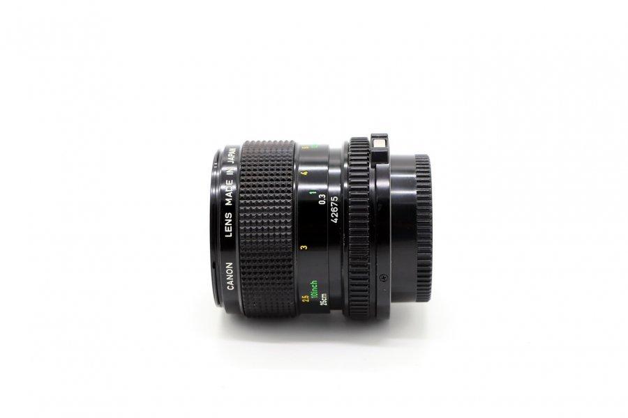 Canon FD 3.5/50mm Macro