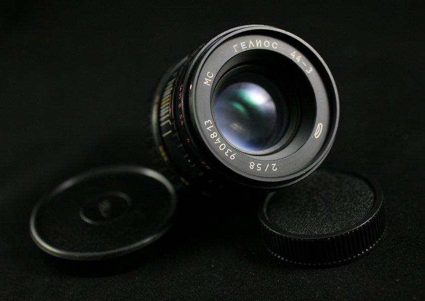 Новый Гелиос 44-3 МС 2/58 (БелОМО, 1992)