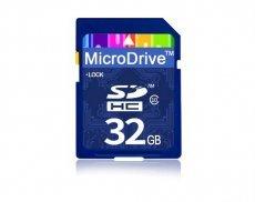 SD карта памяти MicroDrive 32GB