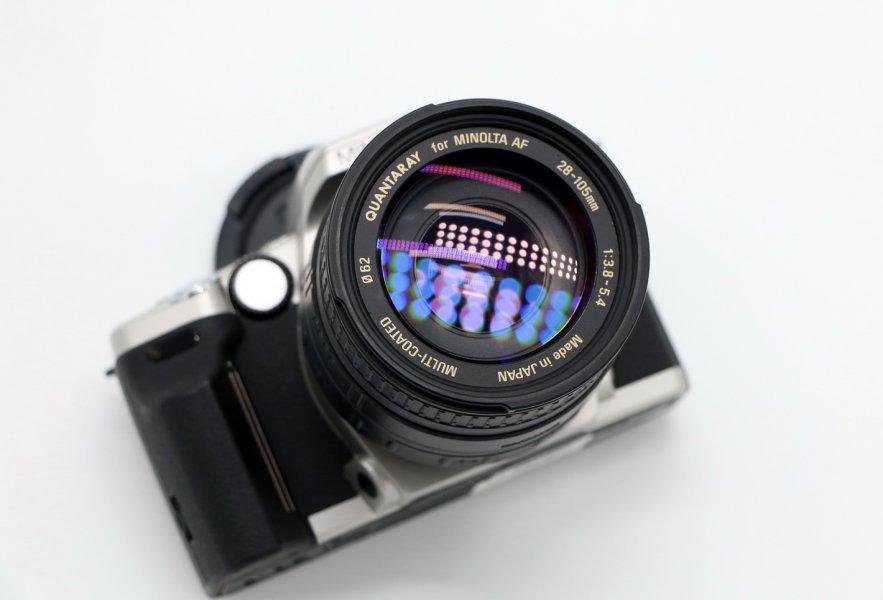 Minolta maxxum 5 kit