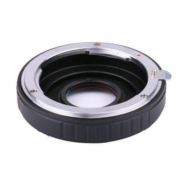 Adapter Nikon F - Pentax K с линзой