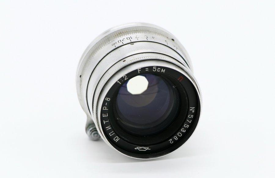 Юпитер 8 П f2/50mm (СССР, 1956)