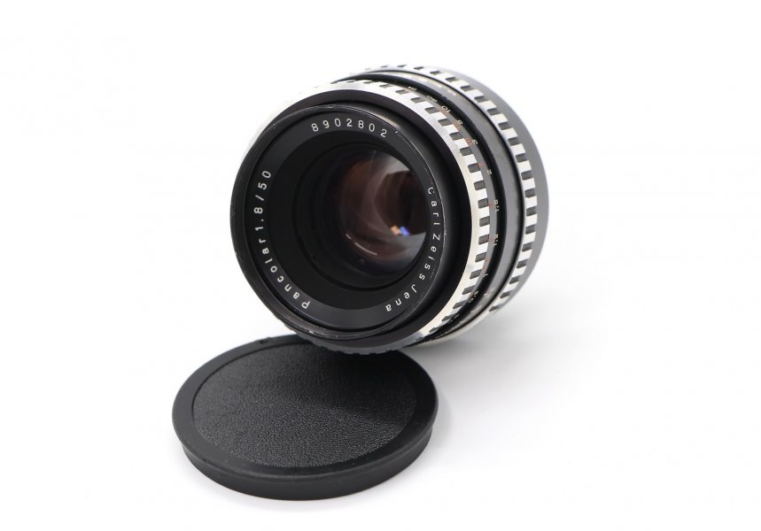 Pancolar 1.8/50 зебра M42 Carl Zeiss Jena DDR