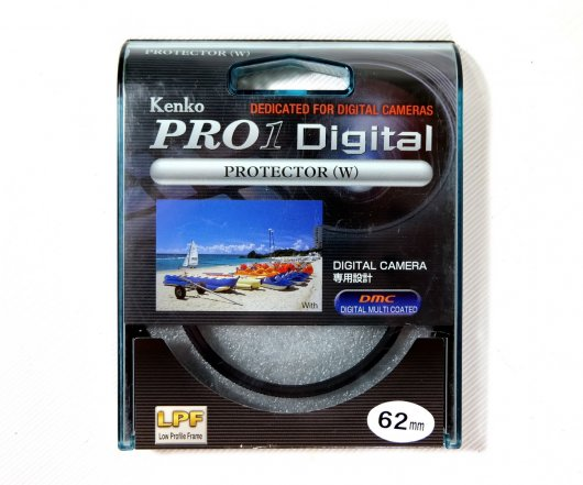 Светофильтр Kenko Pro1 Digital Protector (W) 62mm Japan