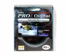 Светофильтр Kenko Pro1 Digital Pro ND4 (W) 62mm Japan