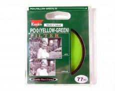 Светофильтр Kenko Filter PO0 (Yellow-Green) XO 77mm