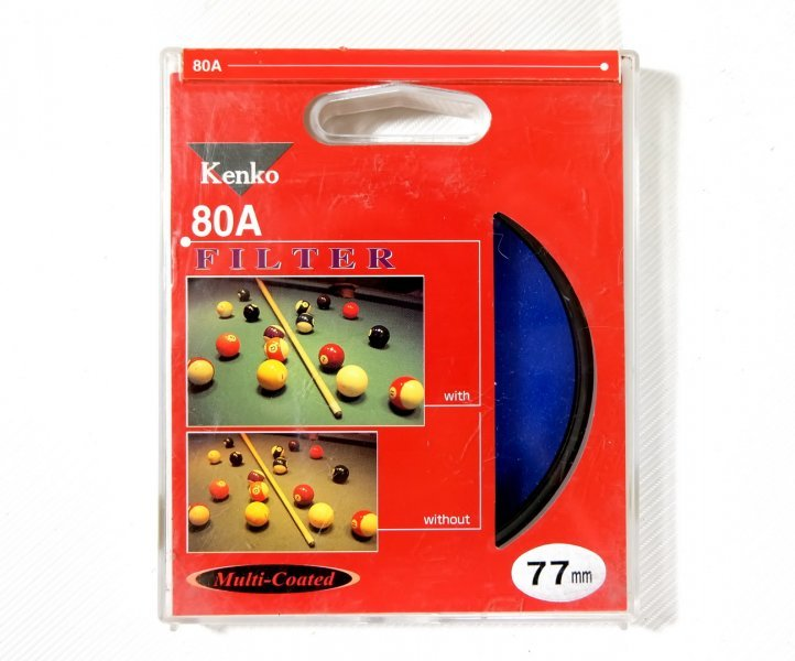 Светофильтр Kenko Filter 80A 77mm