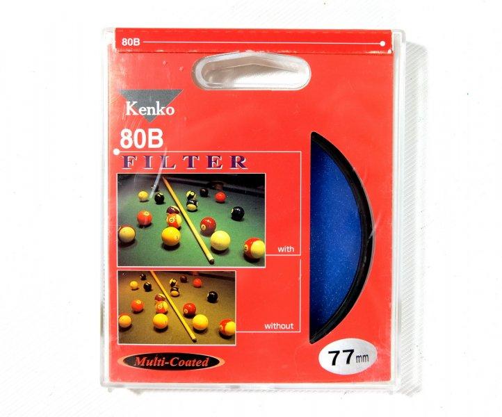 Светофильтр Kenko Filter 80B 77mm