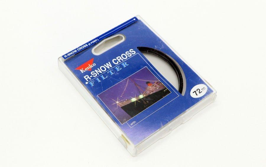 Светофильтр Kenko Filter R-Snow Cross (6 point) 72mm