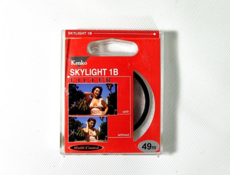 Светофильтр Kenko Filter Skylight 1B 49mm