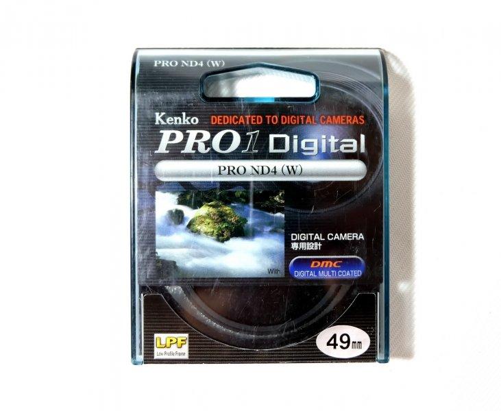 Светофильтр Kenko Pro1 Digital Pro ND4 (W) 49mm