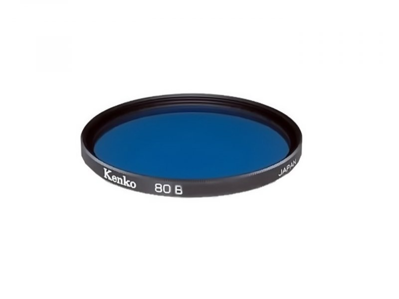 Светофильтр Kenko Filter 80B 58mm Japan