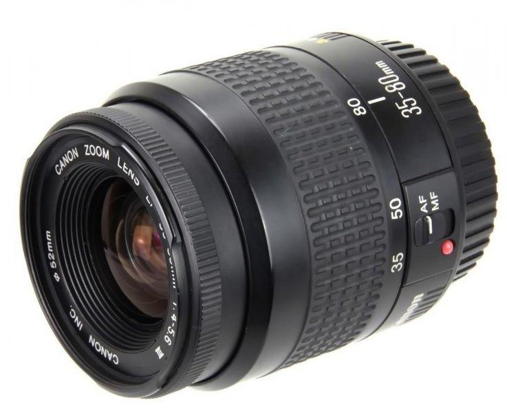 Canon zoom lens EF 35-80mm 4-5,6 III