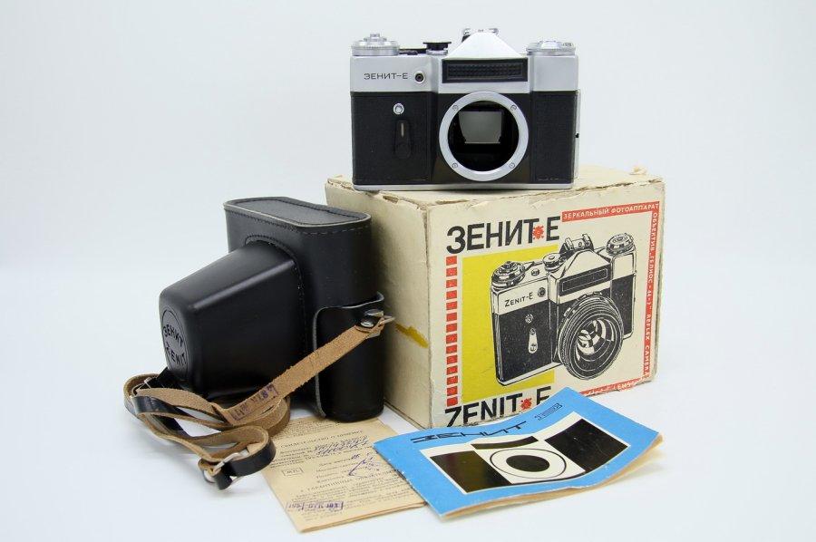 Зенит-Е body в упаковке (СССР, 1983)