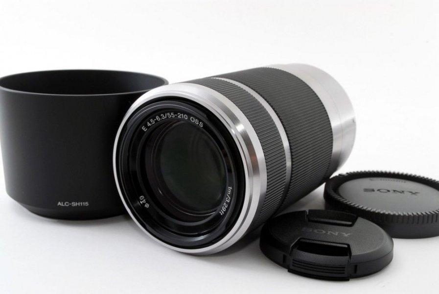 Sony 55-210mm f/4.5-6.3 E (SEL-55210) новый