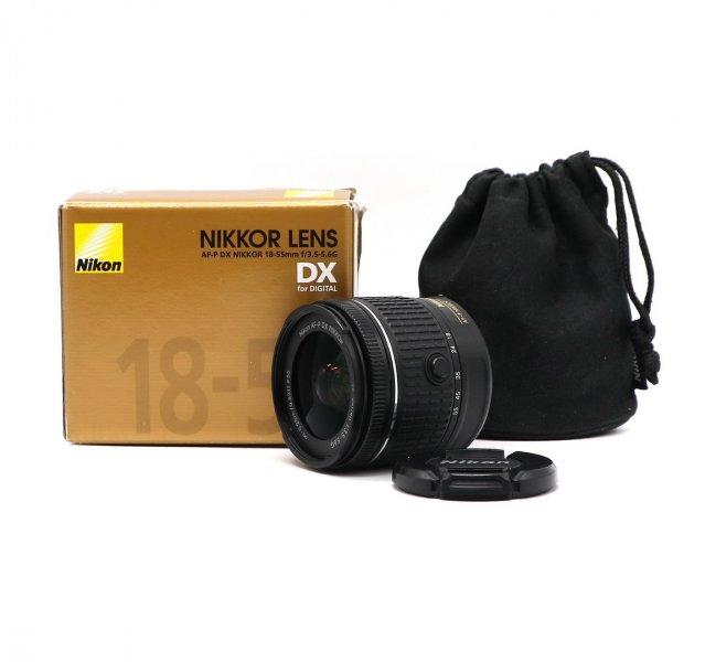 Nikon 18-55mm f/3.5-5.6G AF-P VR DX Nikkor Новый