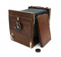 Немецкая деревянная камера + Doppel-Anastigmat Kaelar 180mm f/6,8
