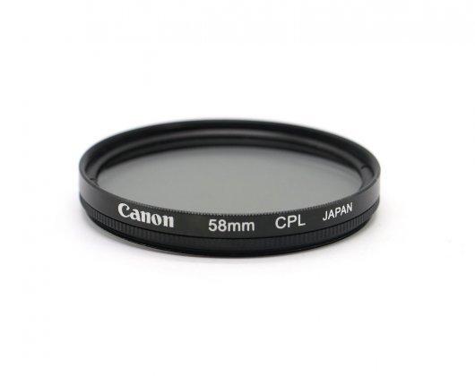 Светофильтр Canon 58mm CPL Japan