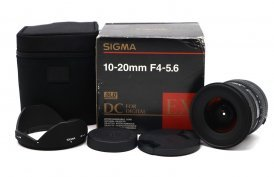 Sigma AF 10-20mm f/4-5.6 EX DC HSM Canon EF-S в упаковке