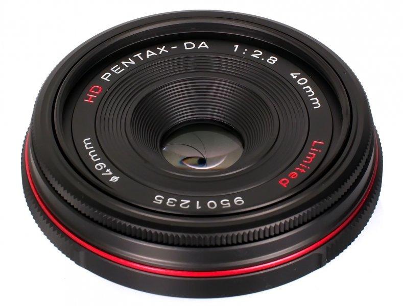 Pentax DA 40mm f/2.8 Limited HD
