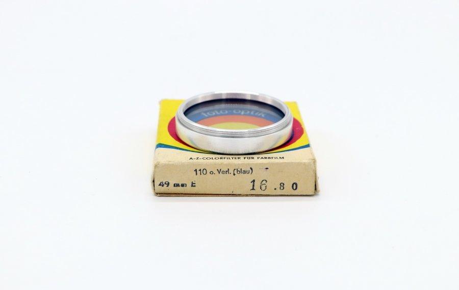 Светофильтр Foto-optik 49mm 110 o.Verl (blau)