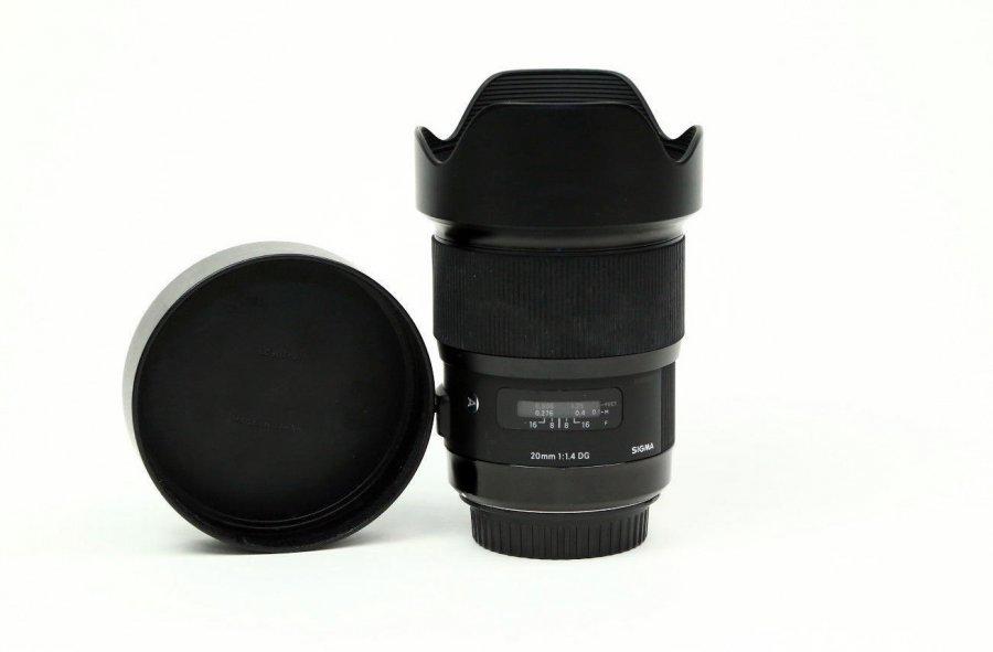 Sigma 20mm f/1.4 DG HSM Art Canon EF новый
