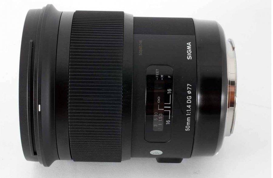 Sigma 50mm f/1.4 DG HSM Art Canon EF