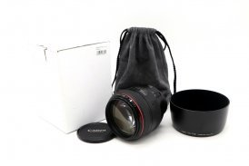 Canon EF 85mm f/1.2L USM в упаковке