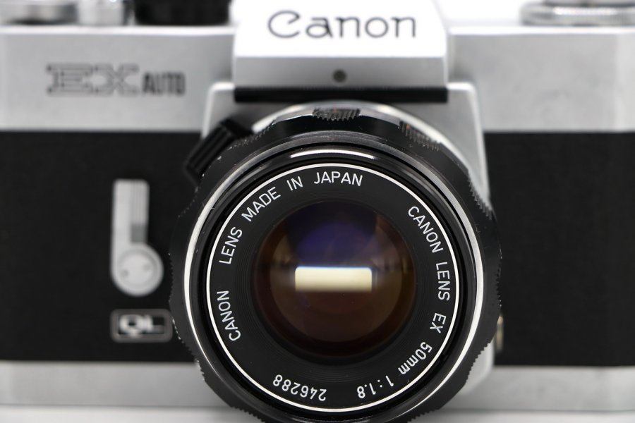 Canon EX Auto kit (Japan, 1972)