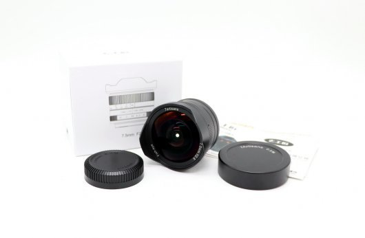 7Artisans 7.5mm f/2.8 Micro 4/3 fish-eye (новый)