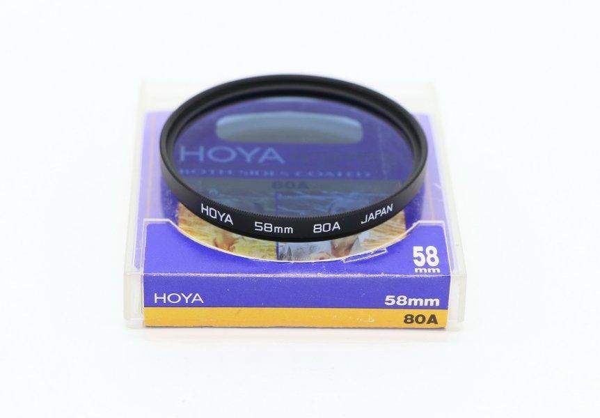 Светофильтр Hoya 58mm 80A Japan