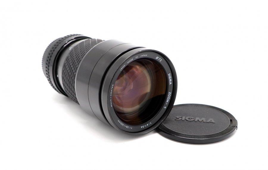Sigma 28-200mm f/4-5.6 Zoom MC Japan