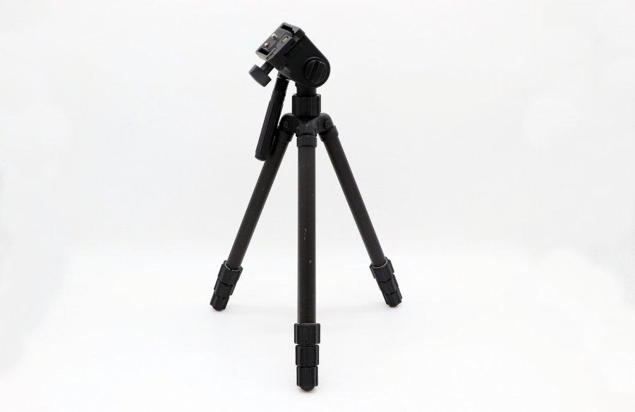 Штатив чёрный 3 колена алюминиевый 86 см