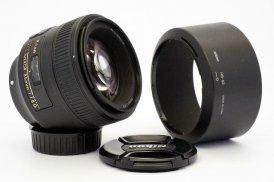 Nikon 85mm f/1.8G AF-S Nikkor в упаковке