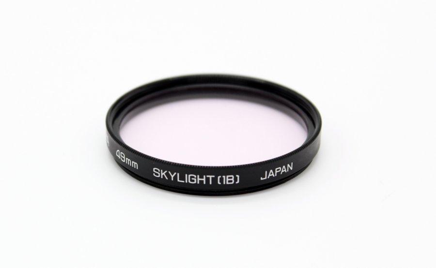 Светофильтр Hoya 49mm Skylight (1В) Japan