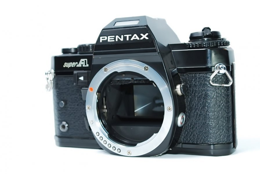 Pentax super A body (Japan, 1983)
