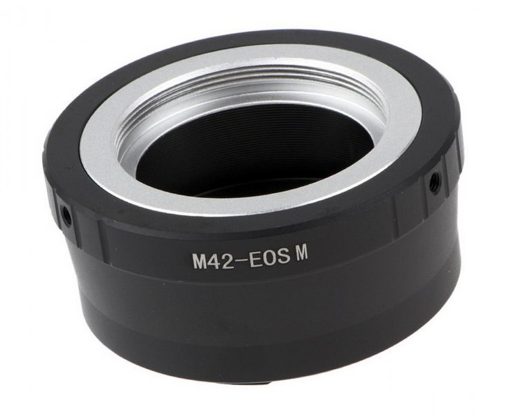 Adapter M42 - Canon EOS M