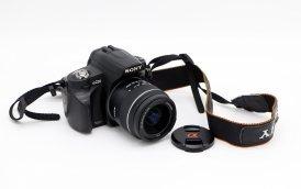 Sony A230 kit (Пробег 7505 кадра)