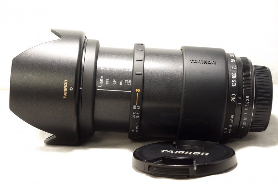 Tamron AF 28-200mm F/3.8-5.6 Aspherical IF LD for Pentax K