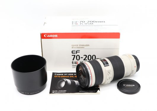 Canon EF 70-200mm f/4L IS USM новый