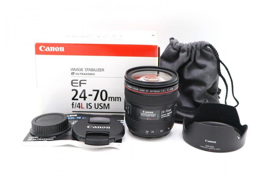 Canon EF 24-70mm f/4L IS USM новый