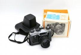 Зенит ЕТ silver в упаковке (СССР, 1985)