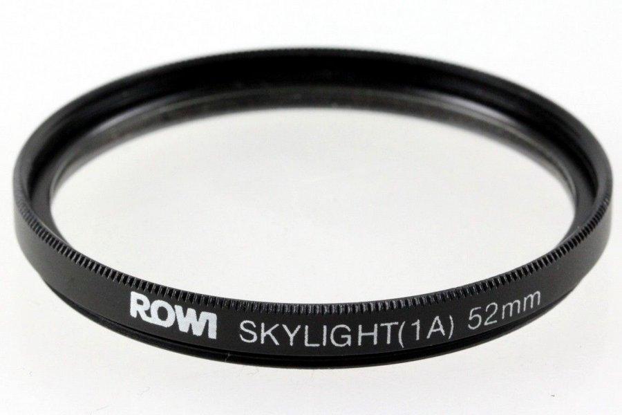 Светофильтр Rowi Skylight (1A) 52mm