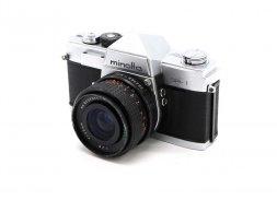 Minolta SR + Stratonar 35mm/2.8